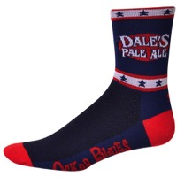 "Save Our Soles 5"" Oskar Blues Dale's Socks - Blue"