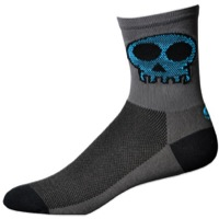 "Save Our Soles 5"" Punishers Socks - Granite"