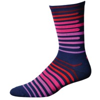 "Save Our Soles 7"" Floating Squares Socks - Navy"