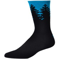 "Save Our Soles 7"" Evergreen Socks - Cyan"