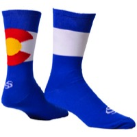 "Save Our Soles 7"" ColoRADo Socks - Blue"