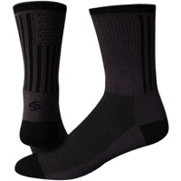 "Save Our Soles 6"" American Made Socks - Grey"