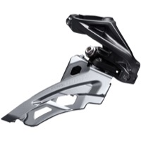 Shimano FD-M6000-H Deore Triple Front Derailleur - 3 x 10 Speed Side Swing