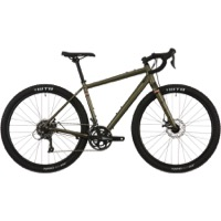 Salsa Journeyman Claris 650b Complete Bike 2018 - Dark Olive - Drop Bar
