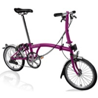 Brompton S2L Complete Bike - Berry Crush