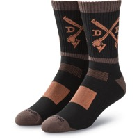 Dakine Step Up Socks - Black/Tarmac