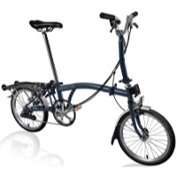 Brompton M6R Complete Bike - Tempest Blue