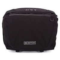 Brompton C Bag Front Messenger Bag - Black