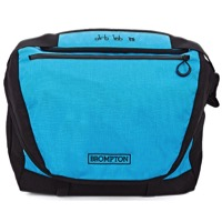 Brompton C Bag Front Messenger Bag - Lagoon Blue