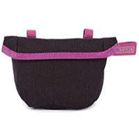 Brompton Saddle Pouch - Black/Berry Crush Trim