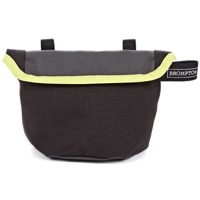 Brompton Saddle Pouch - Grey/Black/Lime Green