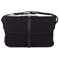 Brompton Shoulder Satchel Bag - Black