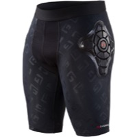 G-Form Pro-X Youth Compression Padded Shorts - Black/Embossed G