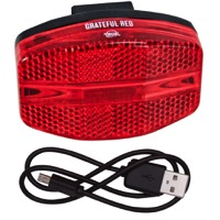 Planet Bike Grateful Red USB Tail Light