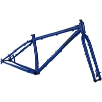 "Surly Karate Monkey 27.5+/29"" Frameset - Blue Porta Potty"