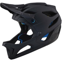 Troy Lee Stage MIPS Full Face Helmet - Stealth Black