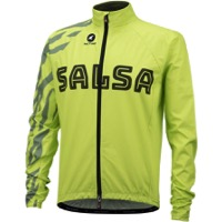 Salsa Team Cycling Jacket - Yellow/Olive Green