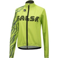 Salsa Team Women's Cycling Jacket - Yellow/Olive Green