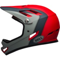 Bell Sanction Helmet 2020 - Presences Matte Crimson/Slate/Grey