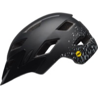 Bell Sidetrack Youth MIPS Helmet 2019 - Fragments Matte Black/Silver