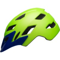 Bell Sidetrack Youth Helmet 2019 - Matte Bright Green/Blue
