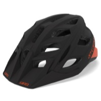 Giro Hex Helmet 2019 - Matte Warm Black/Deep Orange