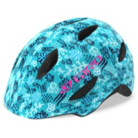 Giro Scamp Youth Helmet 2019 - Blue Floral