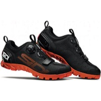 Sidi SD15 MTB Shoes 2019 - Black/Orange