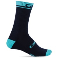 Giro Winter Merino Wool Socks 2020 - Midnight Blue/Glacier
