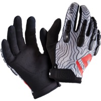 G-Form Pro Trail Gloves - White Topo