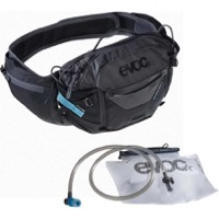 EVOC Hip Pack Pro + 1.5L Hydration Hip Pack - Black