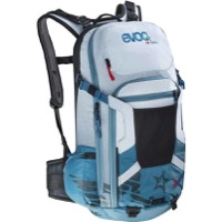 EVOC FR Trail Women's Protector Backpack - Copenhagen Blue/White