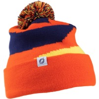 Salsa Pom Beanie - Orange/Blue