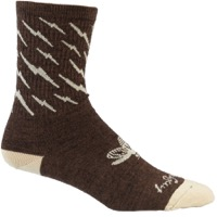 All-City Y'All-City Wool Socks - Brown/Tan