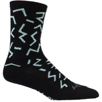All-City The Max Wool Socks - Black/Mint