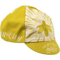 All-City Y'All-City Cycling Cap - Natural/Gold