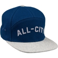 All-City Chome Dome Cap - Blue/Gray