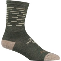 All-City Team Space Horse Socks - Tan/Green