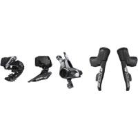 Sram Red eTap AXS 2x HRD Electronic Drivetrain Kit - eTap AXS Shift/Hydraulic Brake