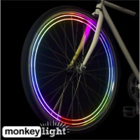 MonkeyLectric M204-R USB Monkey Bike Wheel Light