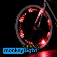 MonkeyLectric M210-R USB Monkey Bike Wheel Light