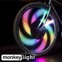 MonkeyLectric M232-R USB Monkey Bike Wheel Light