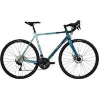 All-City Cosmic Stallion Complete Bike - Blue/Green Stripes