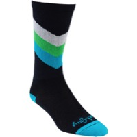 All-City Interstellar Wool Socks - Blue/Multi-Color