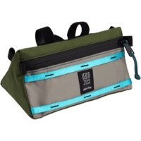 All-City x Topo Bike Handlebar Bag - Blue/Green/Gray
