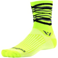 Swiftwick Vision Five Socks - Infinity Citron