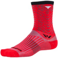 Swiftwick Vision Seven Socks - Tread Red