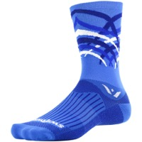 Swiftwick Vision Seven Socks - Shred Blue