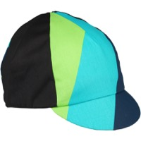All-City Interstellar Cycling Cap - Black/Blue/Green/Turquoise