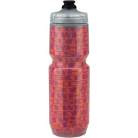 Whisky Parts Co. Insulated Purist Water Bottle - Stretched Pattern Pink/Orange